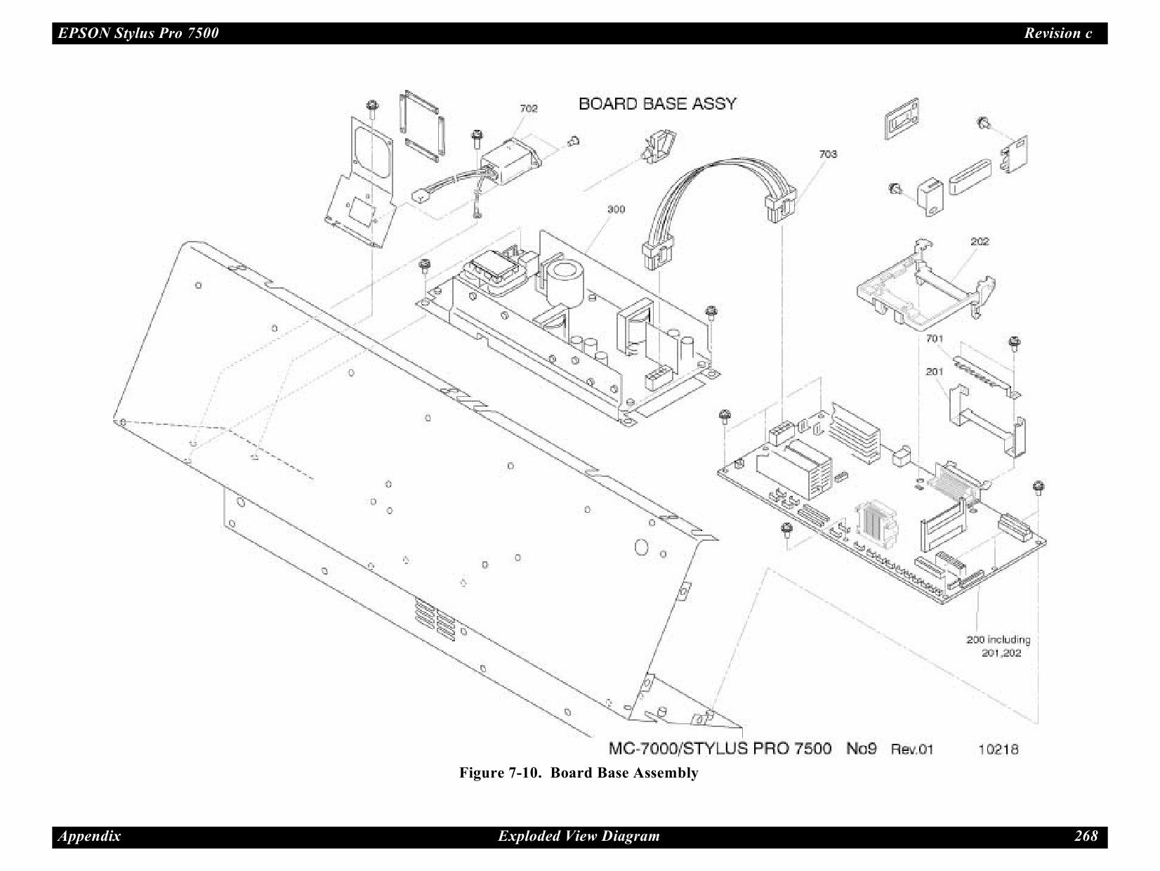 EPSON StylusPro 7500 Parts Manual